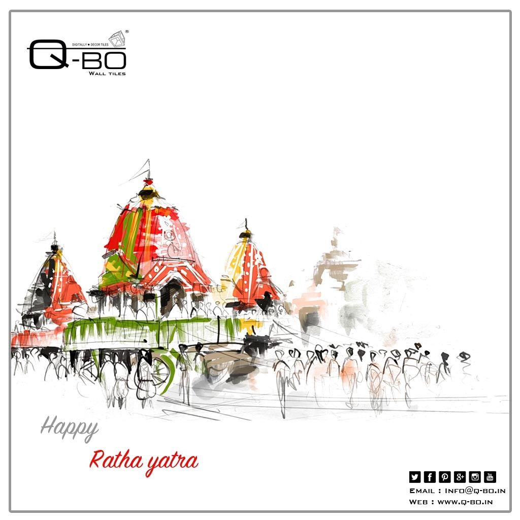 Latest Article From Q Bo Wall Tiles Rath Yatra Ads Creative