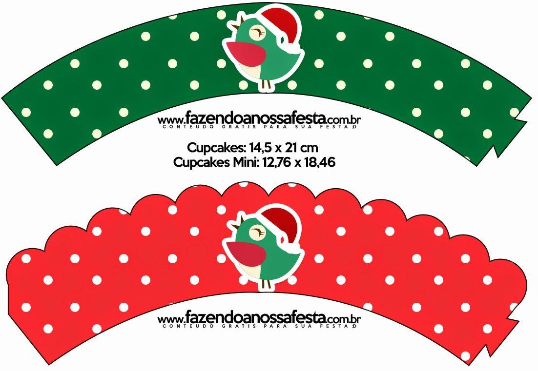 Pajaritos de Navidad: Imprimibles Gratis para Fiestas. | Imprimibles ...