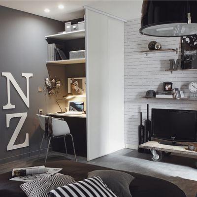 Id es d co pour chambre d 39 ados du cote de chez vous via - Idees decoration maison ...
