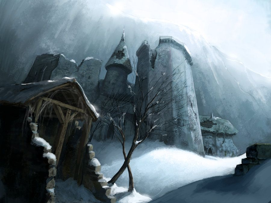 Stronghold on the wall by MarcSimonetti.deviantart.com on @deviantART