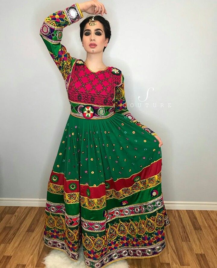 Afghan Wedding Gowns: Pin By Mursal Rasikh On AFG TRADITIONAL DRESSES In 2019