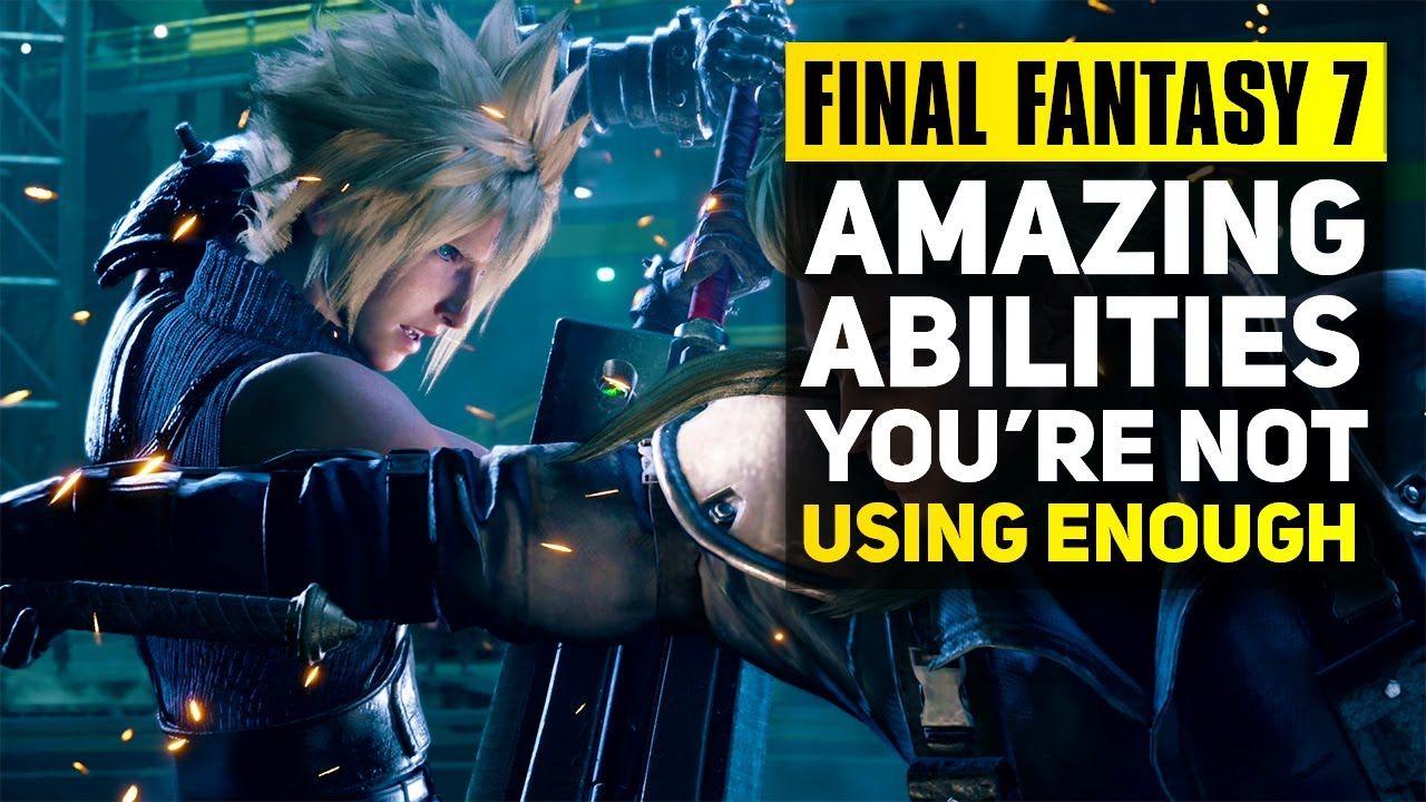 Final Fantasy 7 Remake Advanced Combat Tips Best
