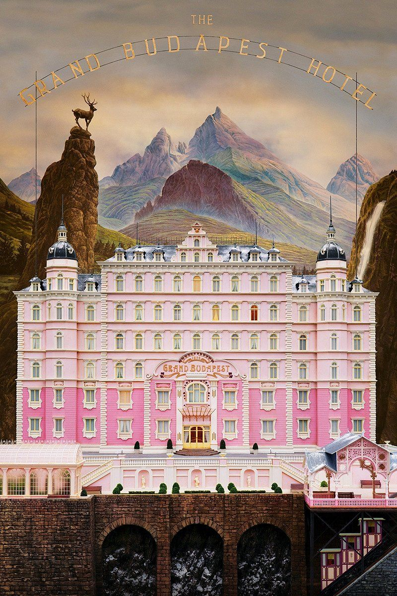 The Grand Budapest Hotel finds Wes Anderson once again using ornate visual environments to explore deeply emotional ideas.