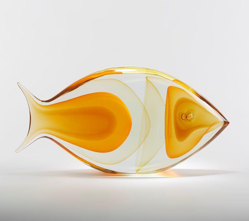 Murano fish sculpture 20th c | Murano glass, Fish and Glass
