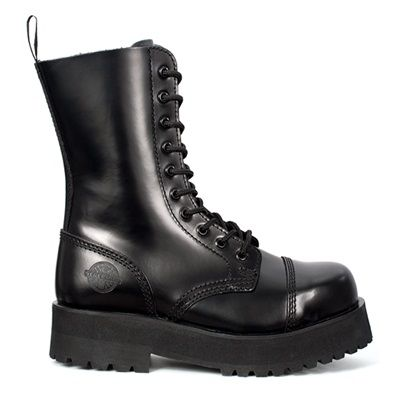 Double Sole Platform 10 eye Combat Boots by Nevermind