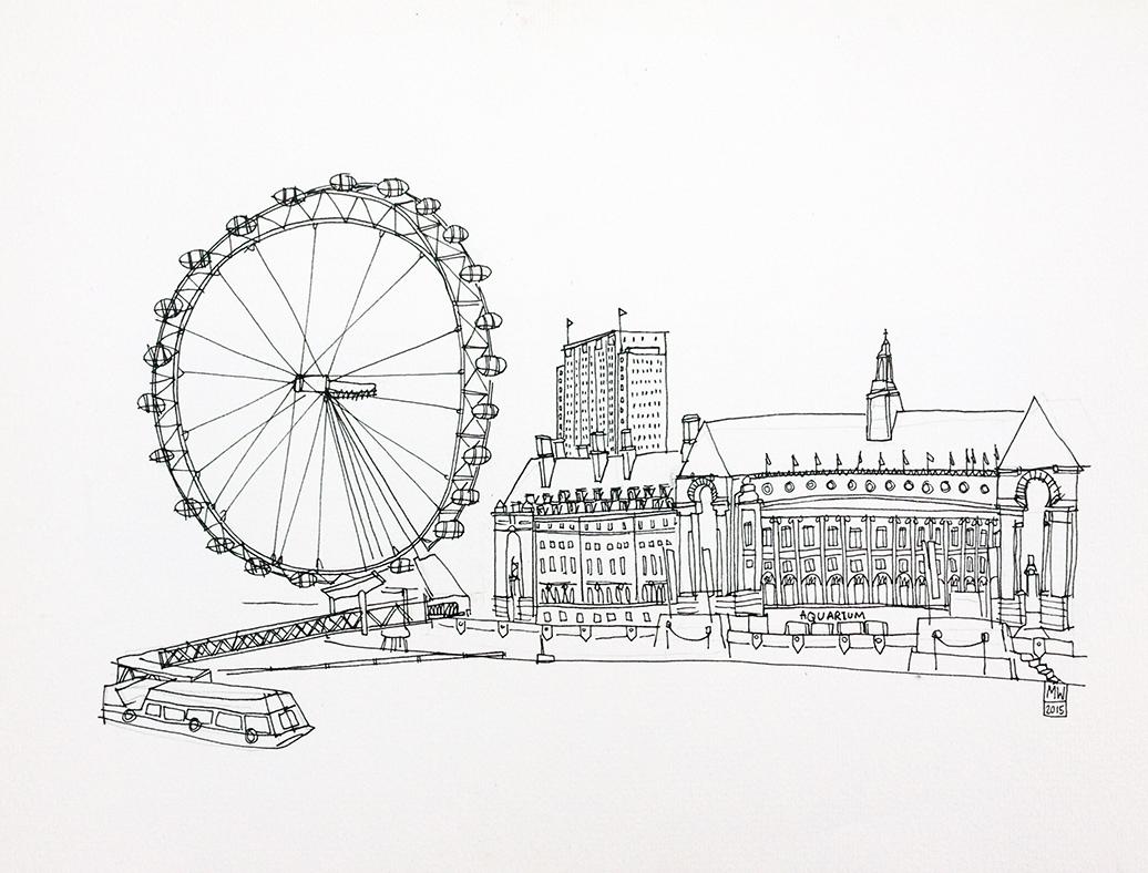 Pin by luke on studio workshop star wars London Eye illustration