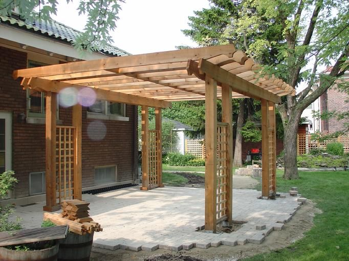 asian style craftsman   Pergolas: Italian 1675, A pergola structure usually  consisting of . - Asian Style Craftsman Pergolas: Italian 1675, A Pergola Structure