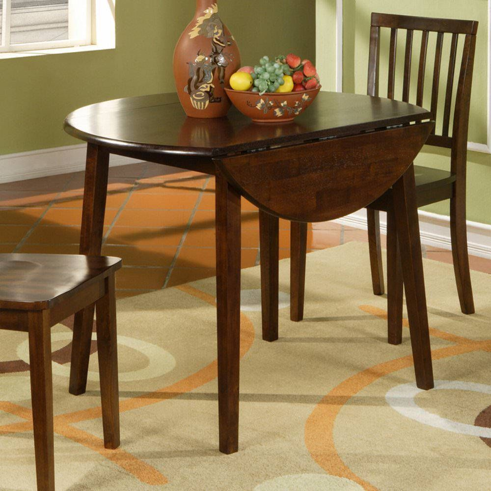 Drop leaf dining table for small spaces 09 modern