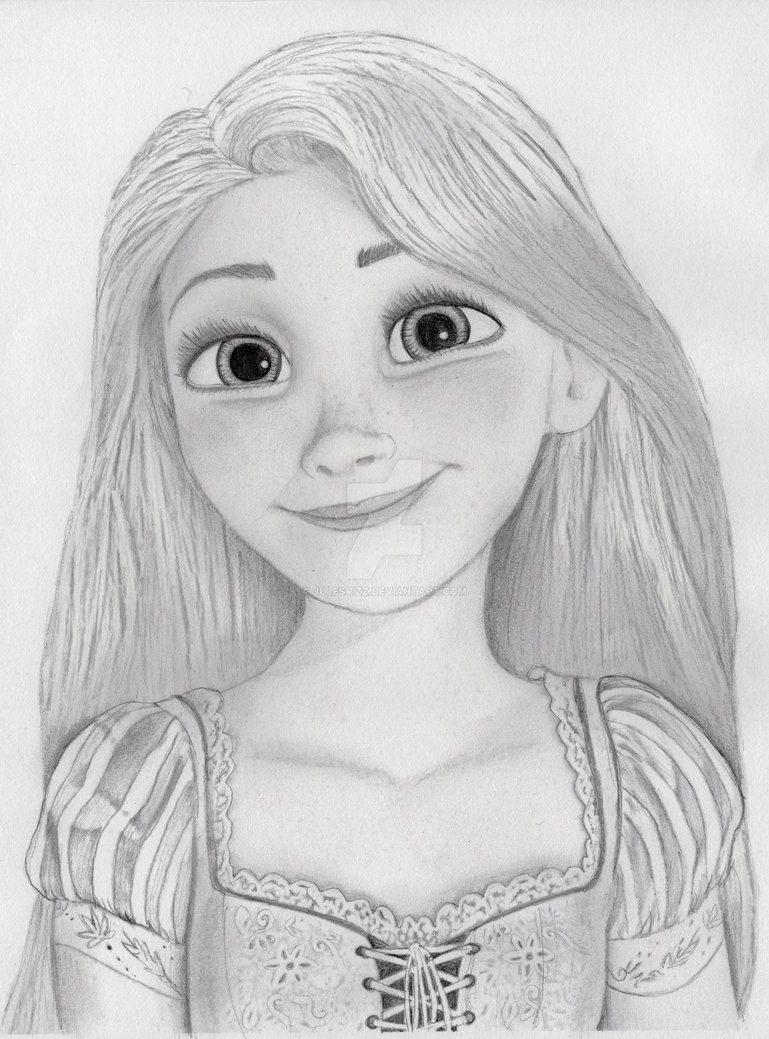 Rapunzel From Tangled Disney Princess Drawings Princess Drawings Disney Drawings Sketches