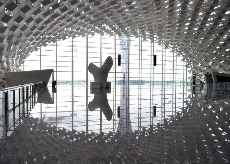 Terminal 3 at Shenzhen Bao\u0027an International Airport by Studio Fuksas