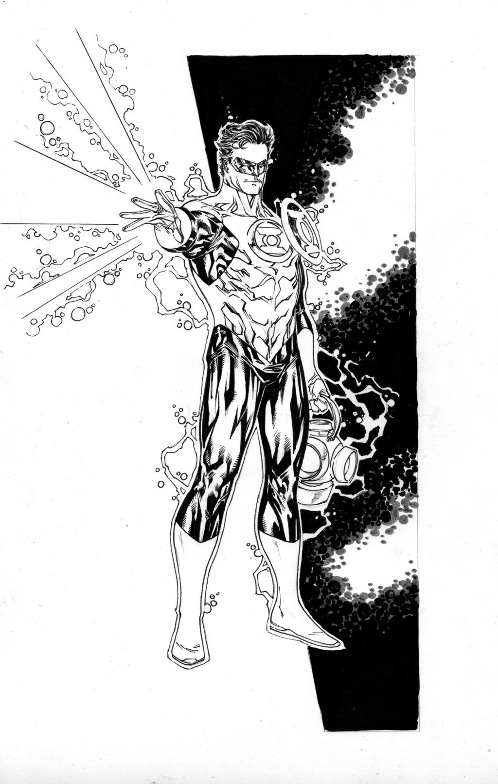 green lantern ausmalbilder | colors needed | Pinterest