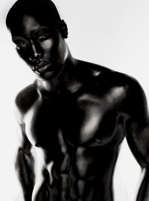 Beautiful dark men
