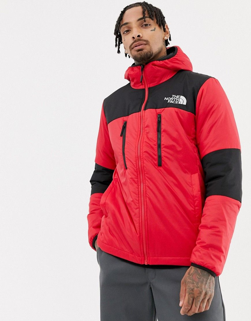 The North Face Himalayan Light Synthetic Jacket In Red Red Thenorthface Cloth The North Face Jackets Fashion [ 1110 x 870 Pixel ]