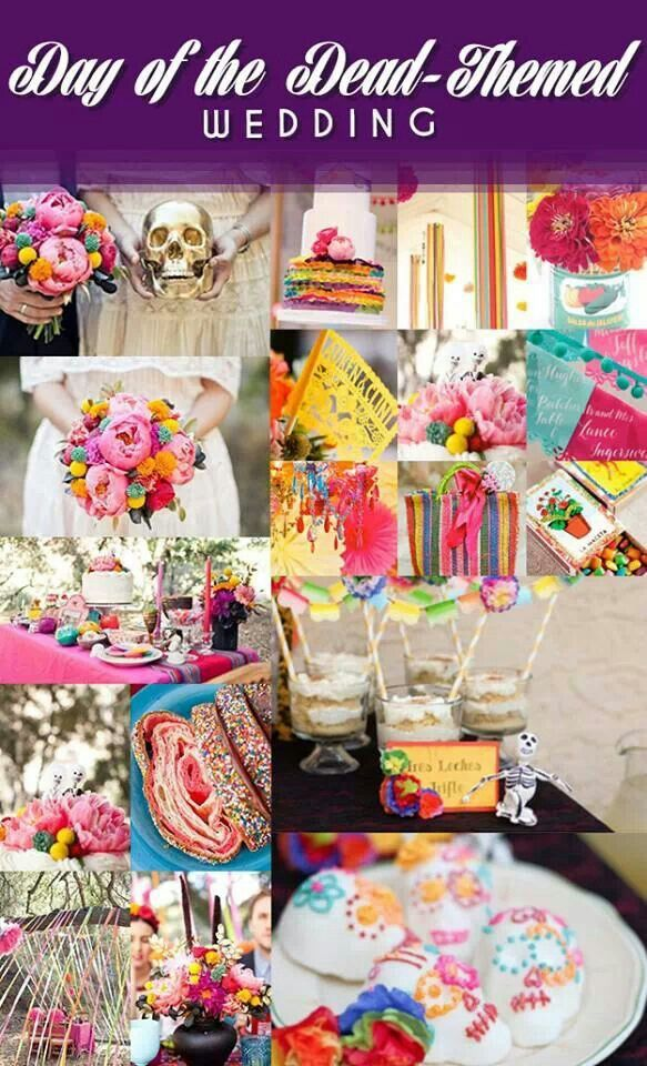 Day of the dead themed wedding | Wedding stuff | Pinterest | Themed ...