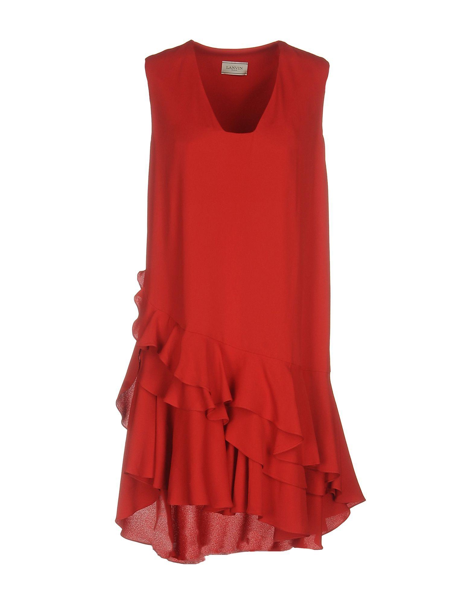 Lanvin women short dress on yoox the best online selection of short