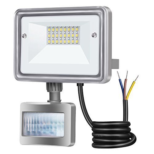 25 99 Stasun 10w Motion Sensor Led Flood Lights 950lm 100w Equivalent 6000k Daylight White Wa Led Flood Lights Motion Sensor Lights Outdoor Security Lights