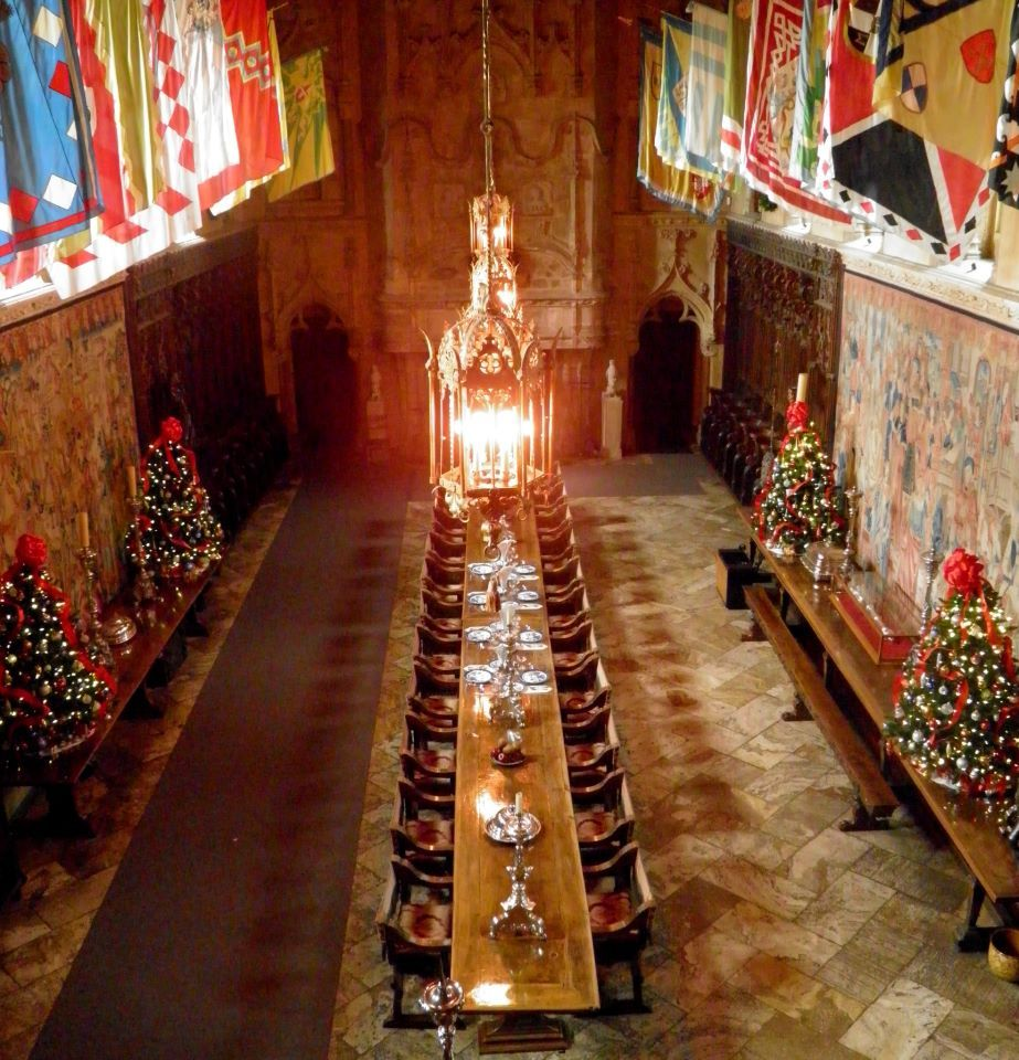 Castle Dining Room: Dining Hall At Hearst Castle