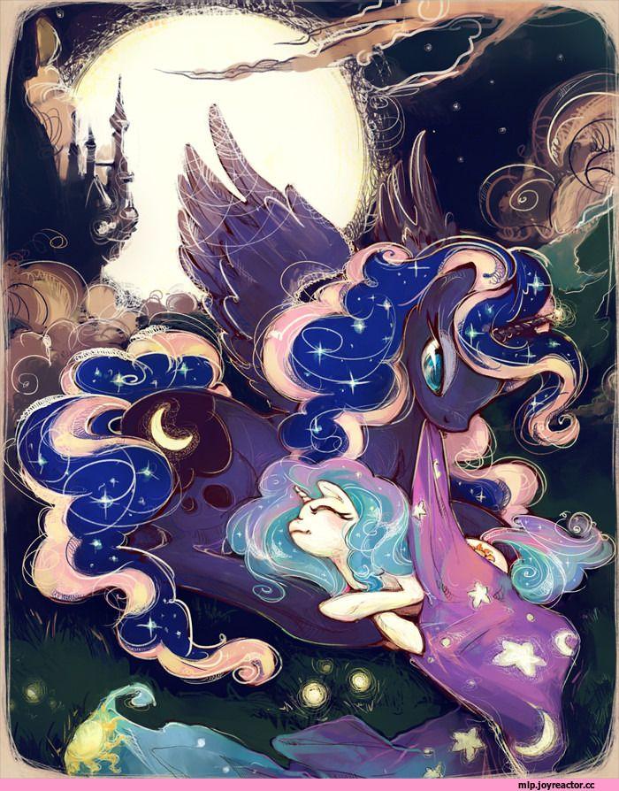 Пин на доске Princess Luna