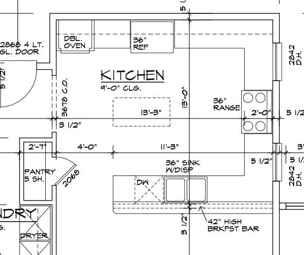 Floor Plans For Galley Kitchen Move Around Appliances