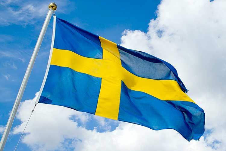 Swedens Flag Sweden Shared By Rajet Krishnan In 2020 Sweden Flag Swedish Flag