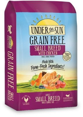 CANIDAE DOG DRY - UTS UNDER THE SUN GRAIN FREE SMALL BREED 4LB