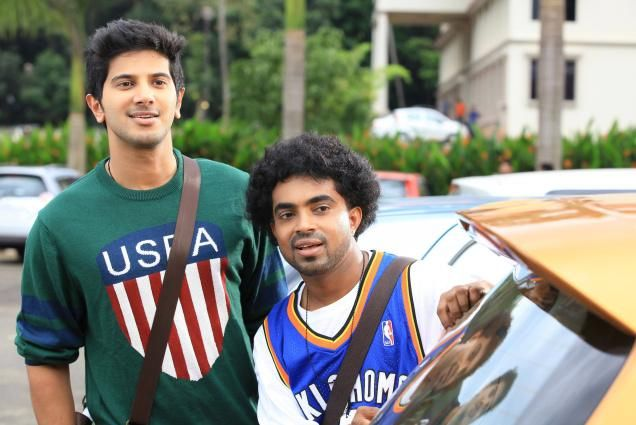 Image result for dulquer salmaan with a friend