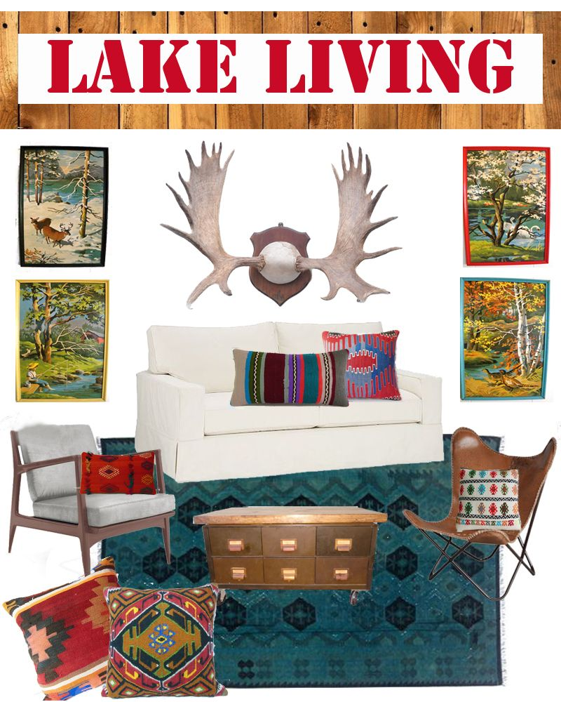 Lake House Living Room Decor: Room Inspiration, Lakes And Colors