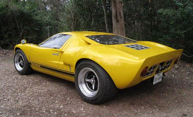 1965 1996 Era Ford Gt40 Replica For Sale Rear Ford Gt40 Gt40