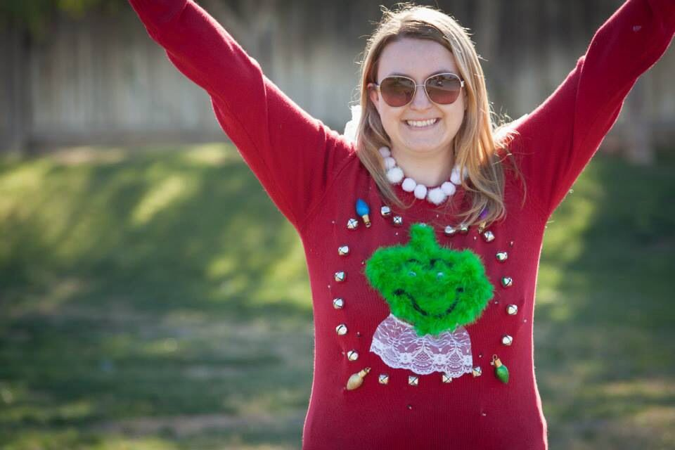 Ugly sweater grinch style ugly xmas sweaters amp other tacky stuff