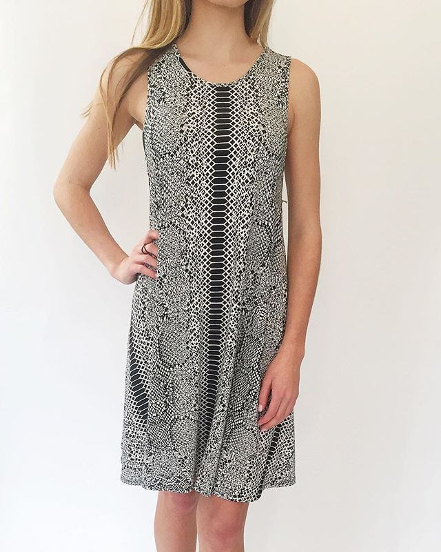 """Shop @tartcollections """"Walk on the Wild Side Dress"""" at kkbloomboutique.com @kkbloomboutique"""