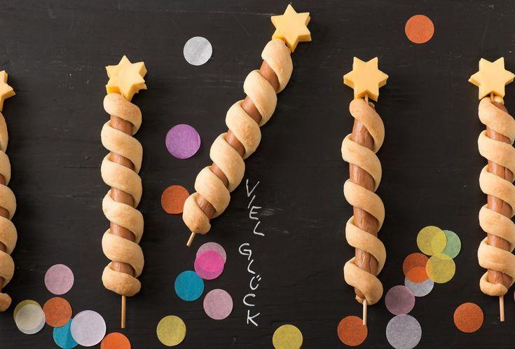 Party Snack Würstchen-Raketen » Einfach Lecker » Rezeptideen für jeden Tag