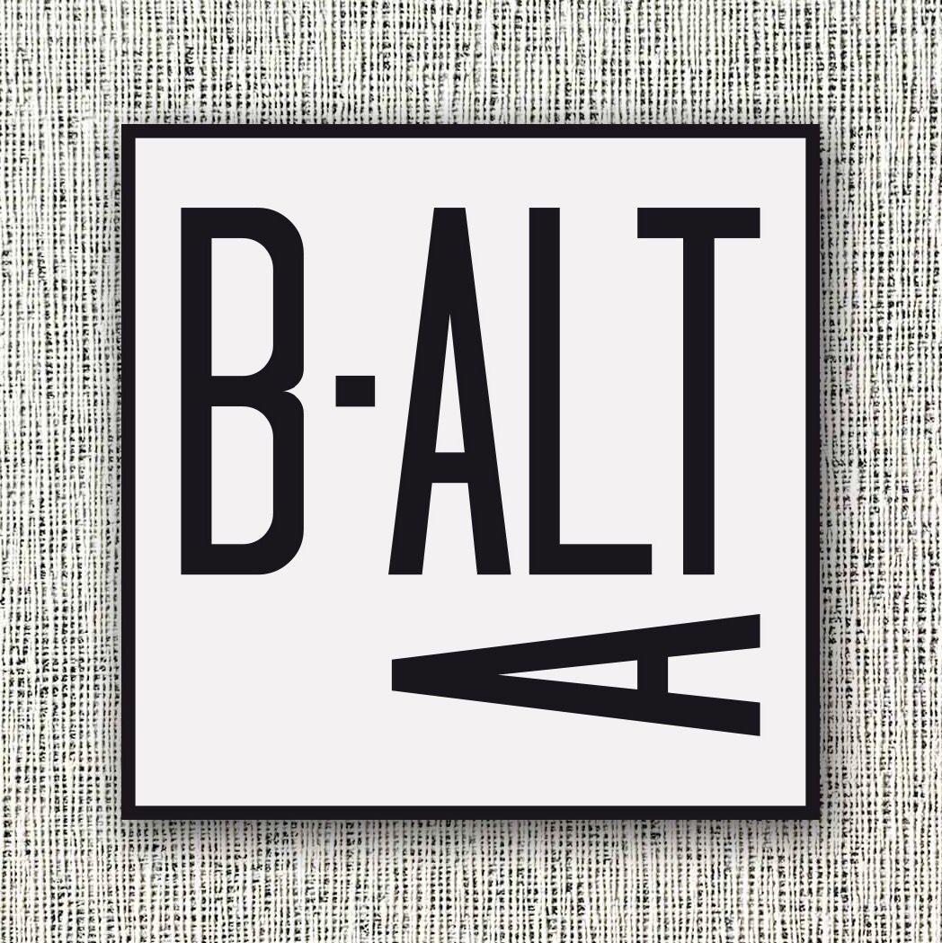 #Branding para Balta @baltasan http://www.alicepalahniuk.com/portfolio/balta/ #logotipo #graphicdesign #diseñográfico #tipografía #tipography #fotografía #photography #lettering