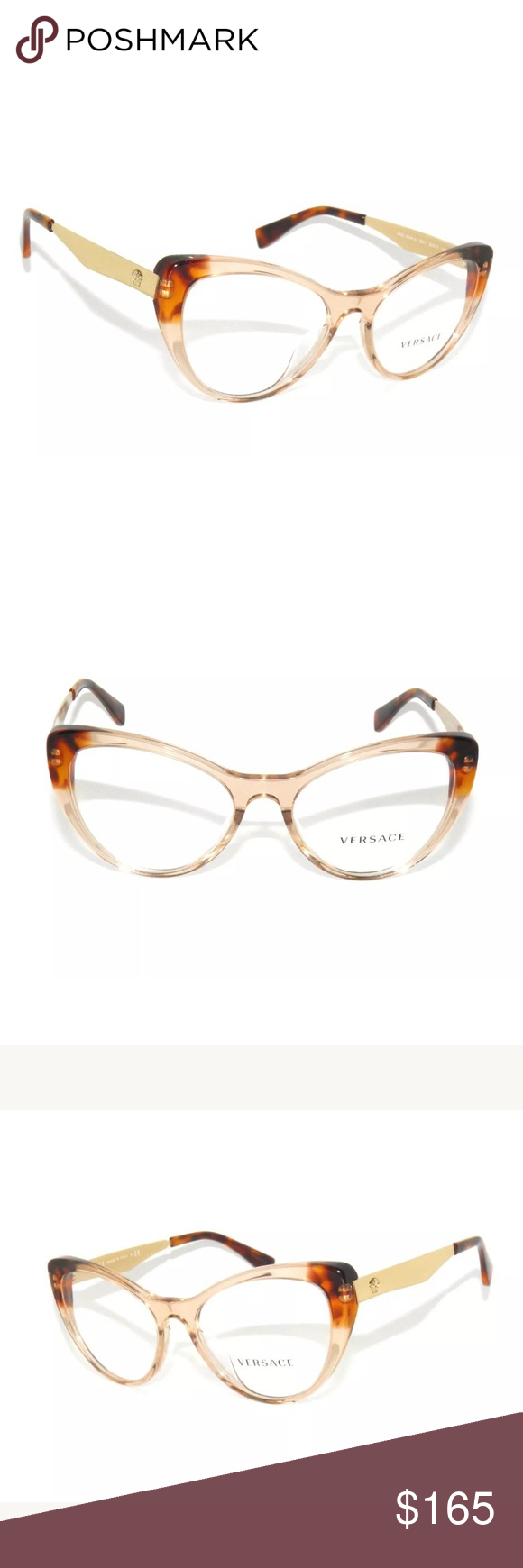 bbdf39a6deb Versace Eyeglasses Havana and Brown 3244 Brand new Comes with Versace case. Authentic  Versace Accessories Glasses