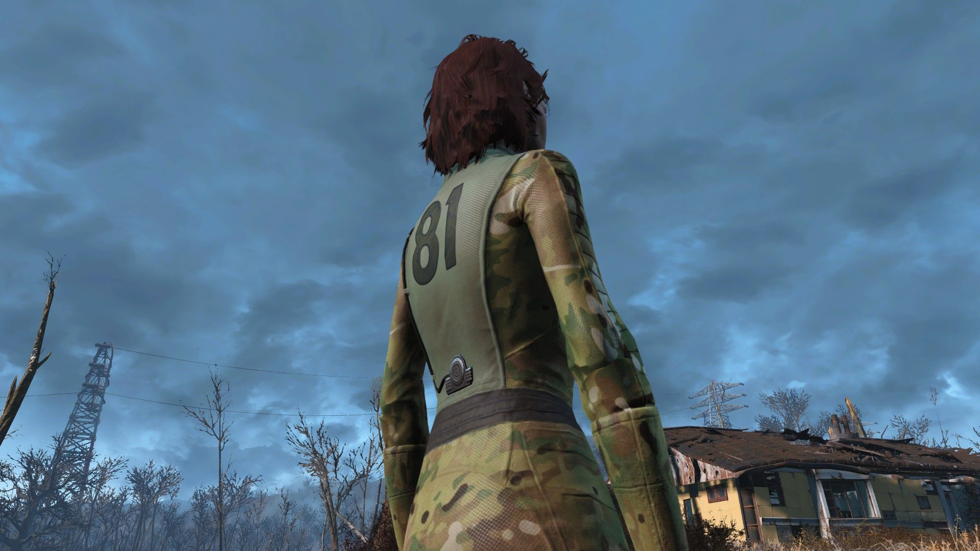 Multi-cam Vault Suit StandAlone at Fallout 4 Nexus - Mods