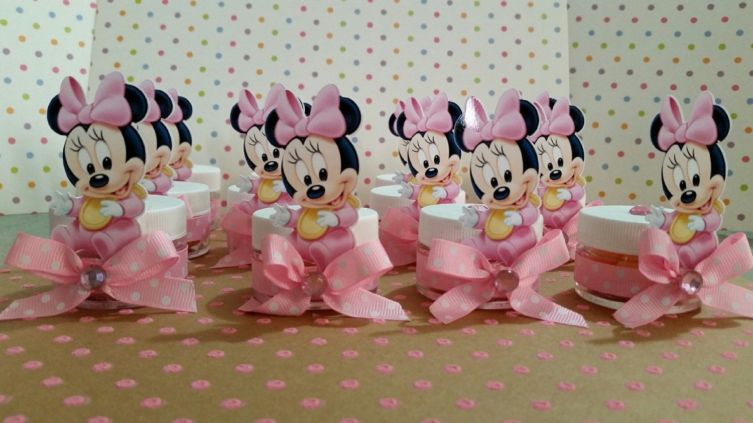 Baby Minnie Mouse Baby Shower Party Favors Baby Shower Favors Baby