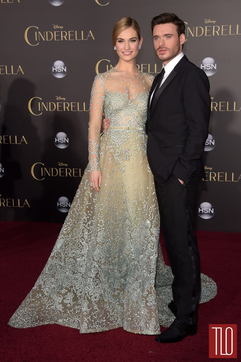 Lily james and richard madden best dressed pinterest lily
