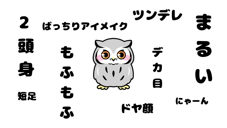 フクロウが かわいい のはなぜ 飼い主が徹底解説 フクロウ かわいい ミミズク