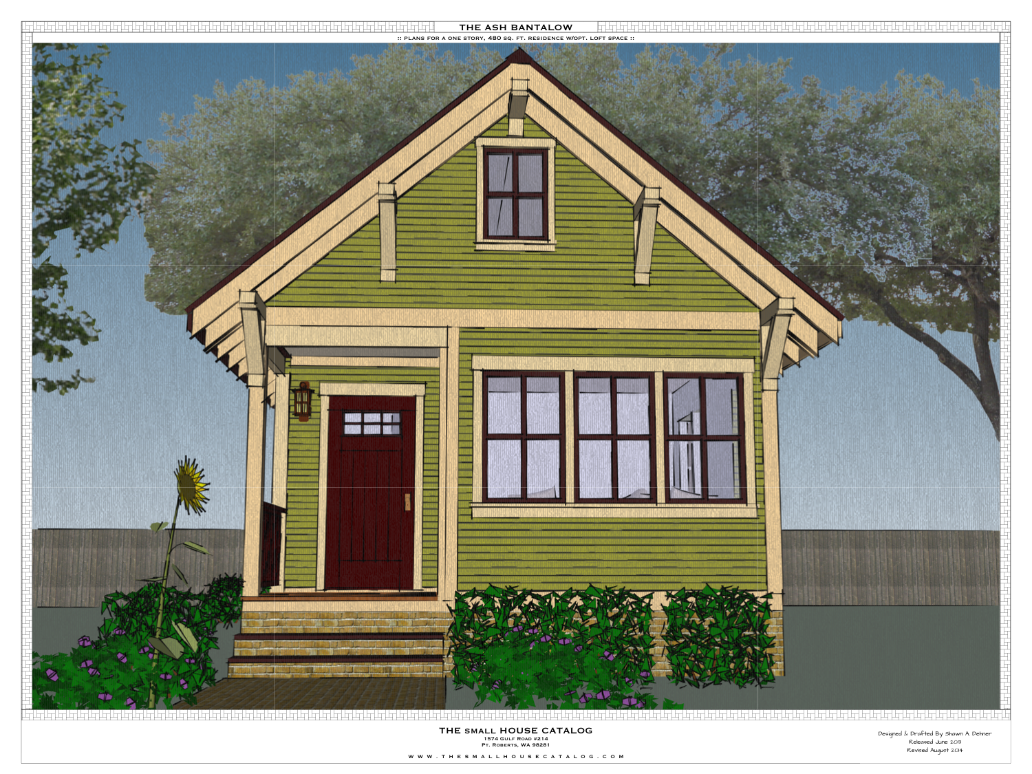 the ash free small house plan Diy tiny house plans