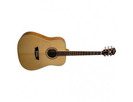 Bargain 299 Was 349 Washburn Wd10 Acoustic Guitar Pack Incl Tuner Gig Bag Strap Dvd Picks Guitars Nz Rock Acoustic Guitar Guitar Washburn