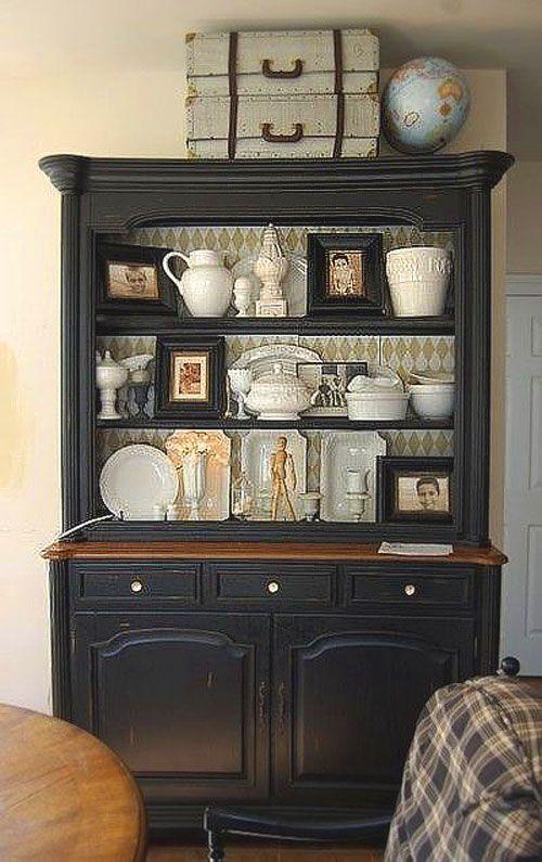 Relooker ses meubles avec du papier peint 6 id es d co - Relooker ses meubles de cuisine ...