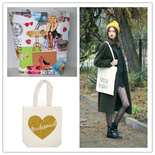 Custom Tote Bags Available for Your Photo or Logo