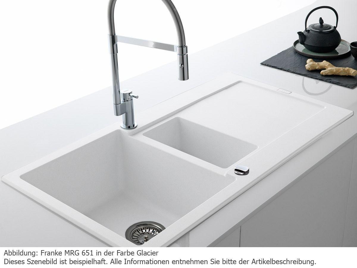 Spülbecken franke  https://www.moebelplus.de/franke-maris-mrg-651-glacier-granit ...