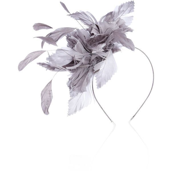 Nancy Fascinator (235 MXN) ❤ liked on Polyvore featuring accessories, hair accessories, headbands, hair, hats, women, fascinator headband, feather hair accessories, head wrap headband and headband hair accessories