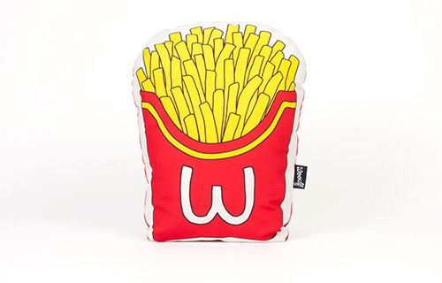 Fries Cushion by 50 A Concept Store. Now available at TheGiftery.com! For more information call 01221103868 (Sunday- Thursday 9:30 am to 5:30 pm)