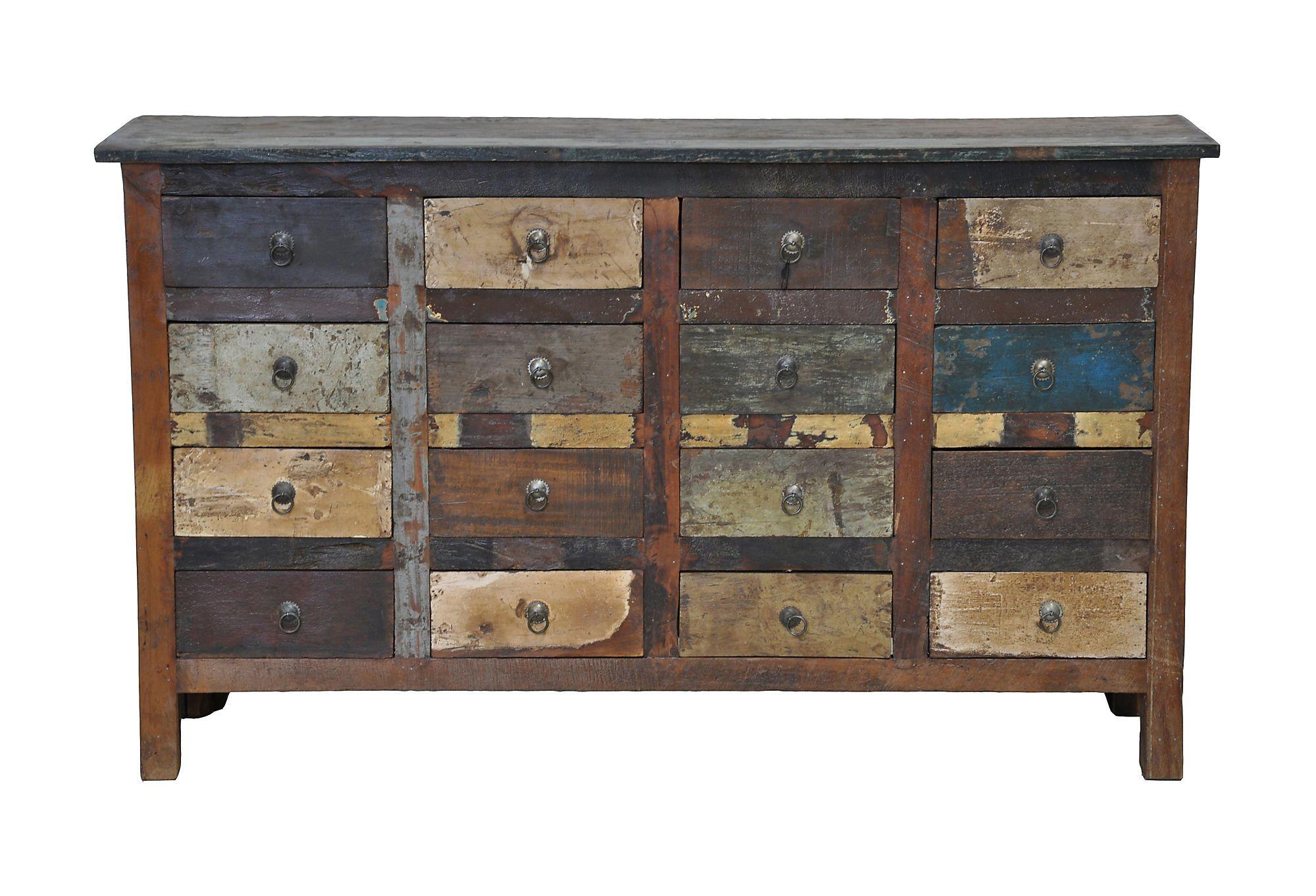 Best Vintage 16 Drawer Cabinet Chest Dresser Drawers 400 x 300