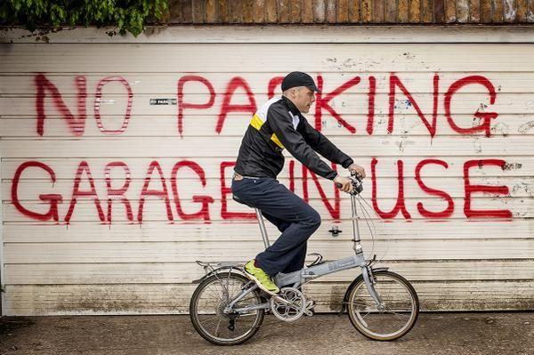 Saddledrunk London To Paris By Folding Bike Dengan Gambar