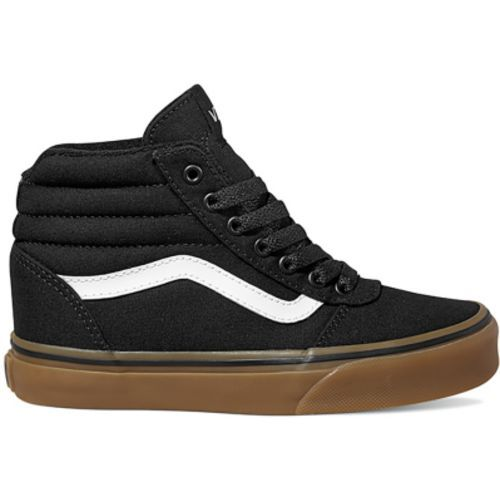 33bffcf9b395 Vans Boys  Ward High-Top Shoes (Black Brown