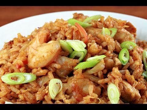 How To Make Nasi Goreng Youtube Food Recipes Nasi Goreng Fried Rice
