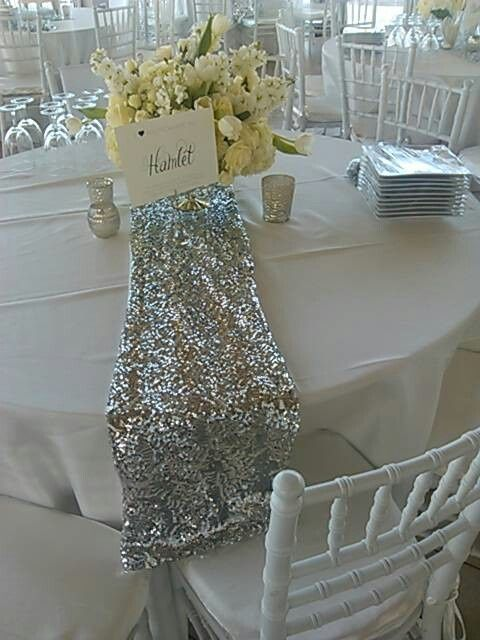 Silver Sequin Table Runner Google Search