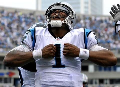 """Cam Newton: """"I think the vibe is changing, not only on this team, but the whole organization. With this whole organization, I think the fans are building as well."""""""
